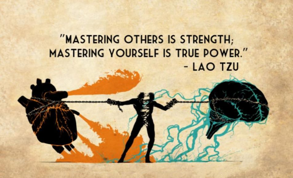 mastering others is strength mastering yourself is true power